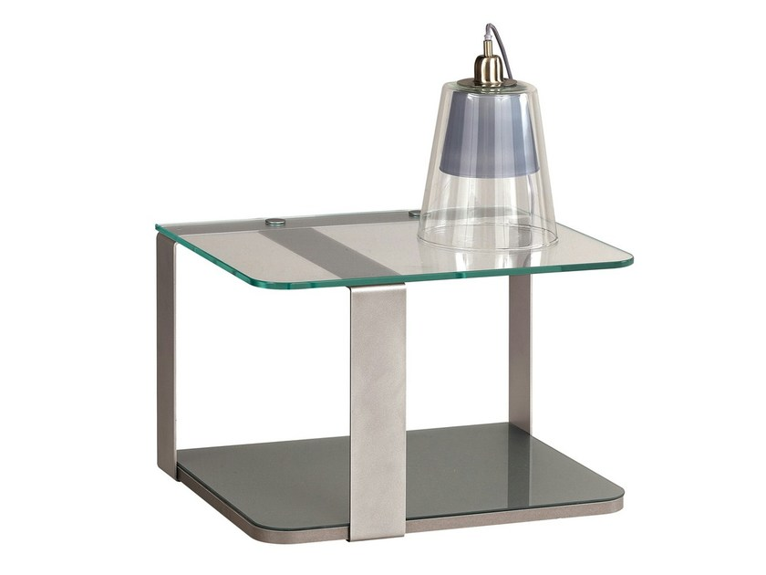 Metal/glass bedside unit PREMIUM - GAUTIER FRANCE