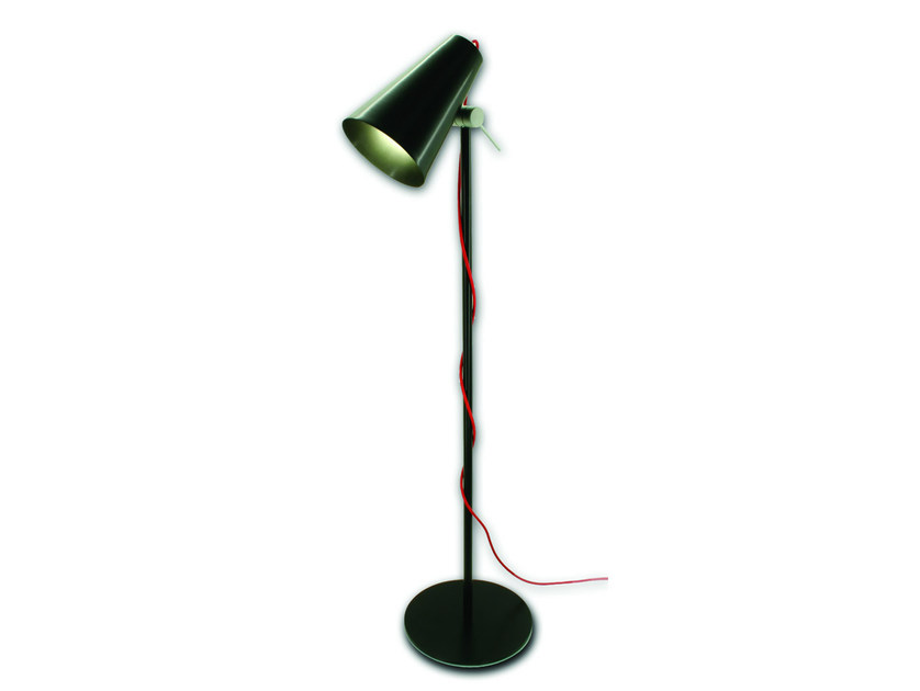 LED adjustable floor lamp CONE - Olev by CLM Illuminazione