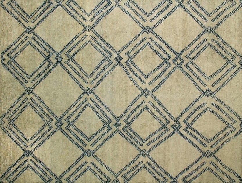 Patterned custom wool rug MR102 | Rug by Mohebban