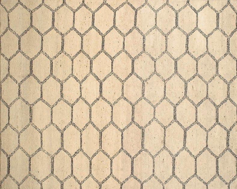 Patterned custom wool rug MR106 | Rug - Mohebban