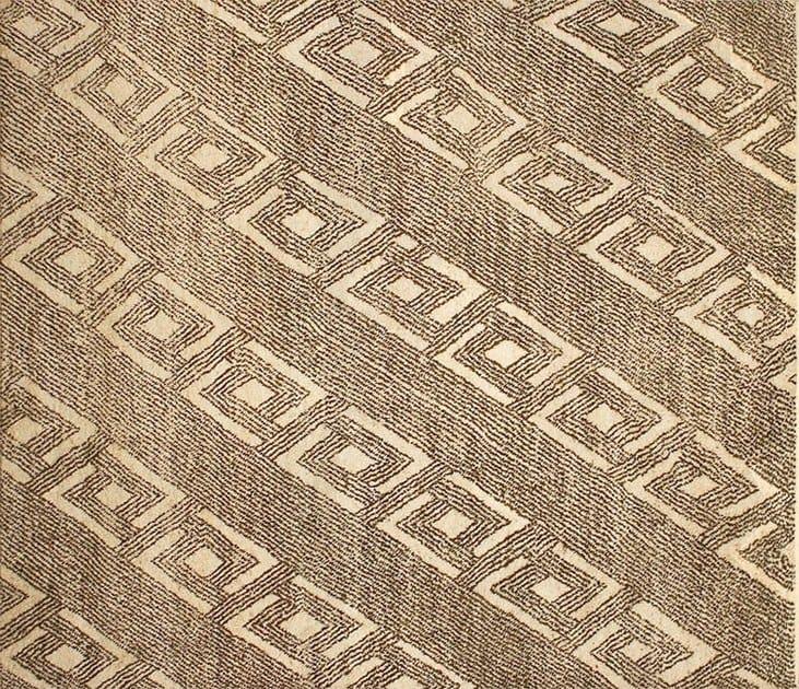 Patterned custom wool rug MR107 | Rug by Mohebban