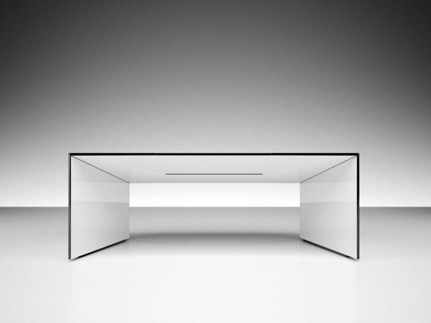 Rectangular office desk COMMENTOR by RECHTECK