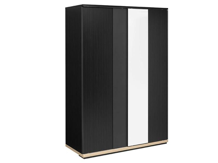 Mirrored wardrobe with sliding doors URBAN | Wardrobe by GAUTIER FRANCE
