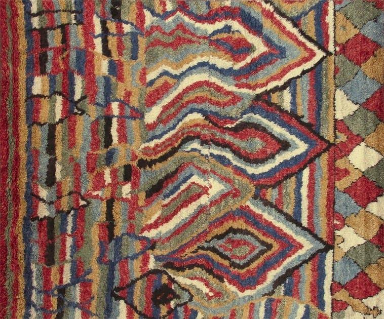Patterned custom wool rug MR501 | Rug by Mohebban
