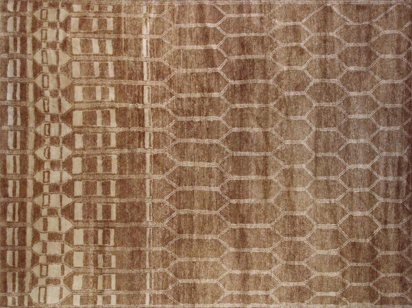 Patterned custom wool rug MR127 | Rug by Mohebban