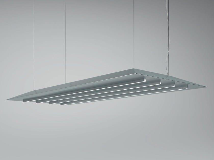 LED metal pendant lamp LAMA - Olev by CLM Illuminazione
