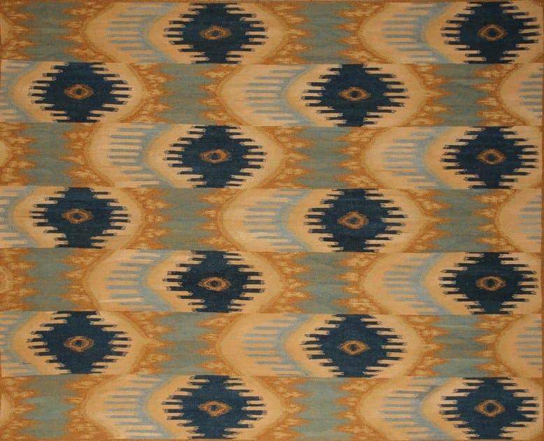 Patterned custom wool rug IK106 | Rug by Mohebban