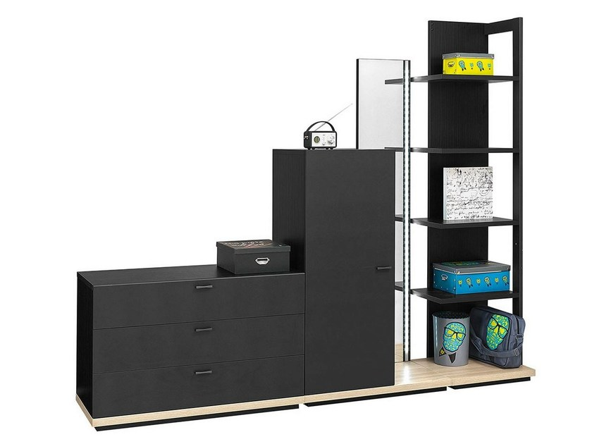 Sectional storage unit for kids bedrooms URBAN - 1 by GAUTIER FRANCE