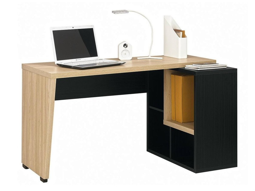 Writing desk with bookcase URBAN - 7 - GAUTIER FRANCE
