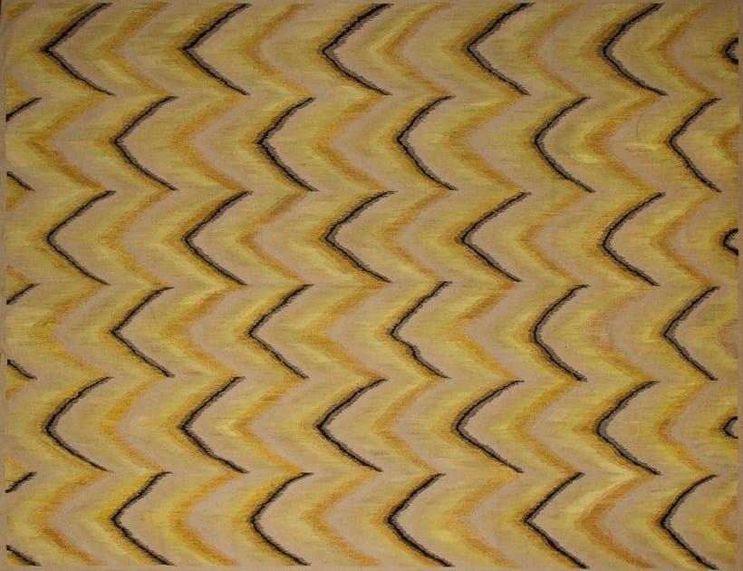 Patterned custom wool rug IK122 | Rug by Mohebban