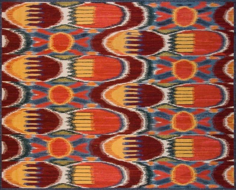 Patterned custom wool rug IK110 | Rug - Mohebban