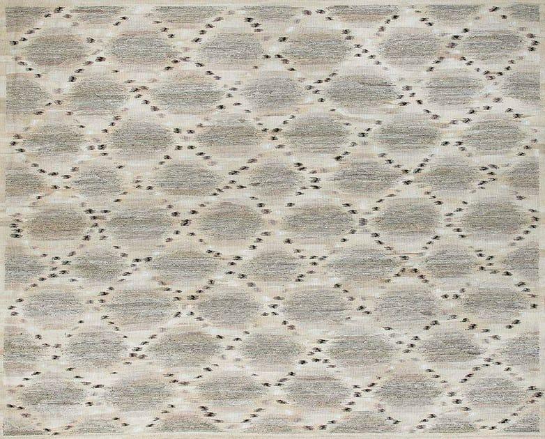 Patterned custom wool rug IK125 | Rug by Mohebban