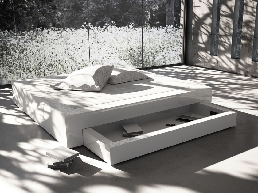 Storage bed SOMNIUM   Storage bed - RECHTECK Felix Schwake