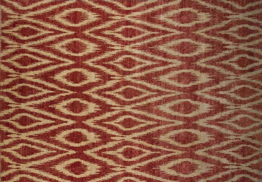 Patterned custom wool rug IT301 | Rug - Mohebban