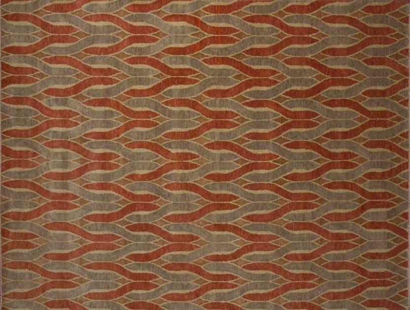 Patterned custom wool rug IT425 | Rug by Mohebban