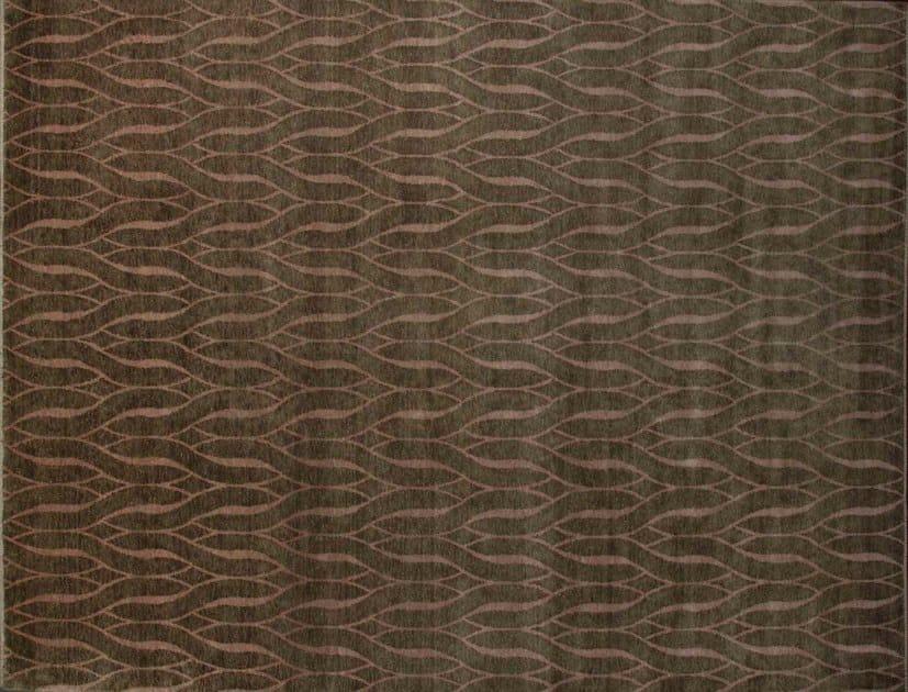 Patterned custom wool rug IT420 | Rug by Mohebban