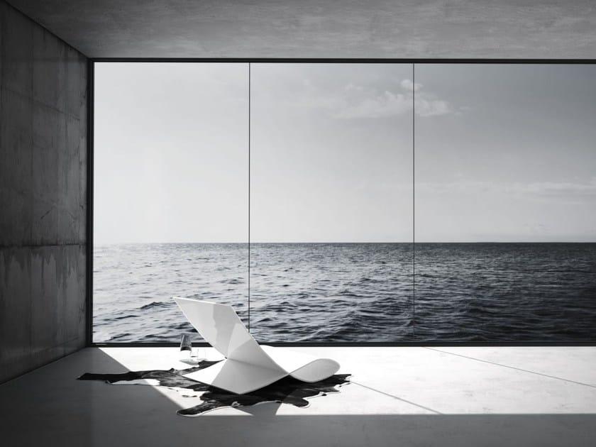 Aluminium easy chair ALPHA - RECHTECK Felix Schwake