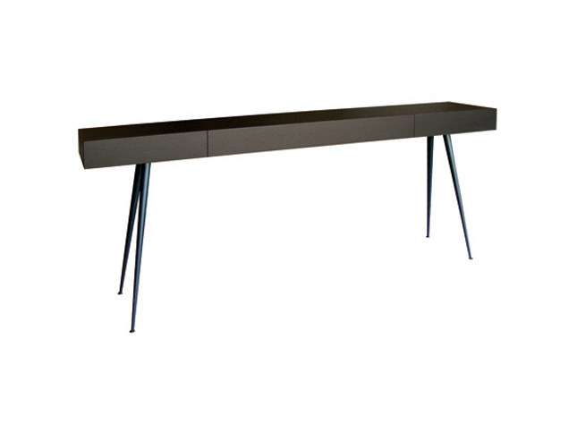 Lacquered console table with drawers TYROL by Ph Collection