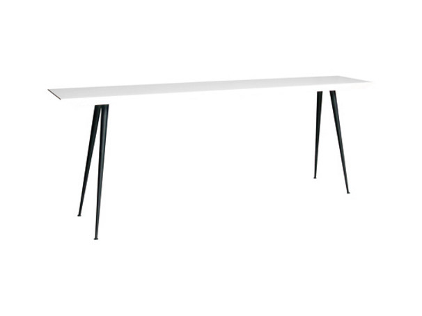 Lacquered rectangular wooden console table CONSTANCE - Ph Collection
