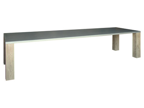 Rectangular wooden table SAMSON - Ph Collection