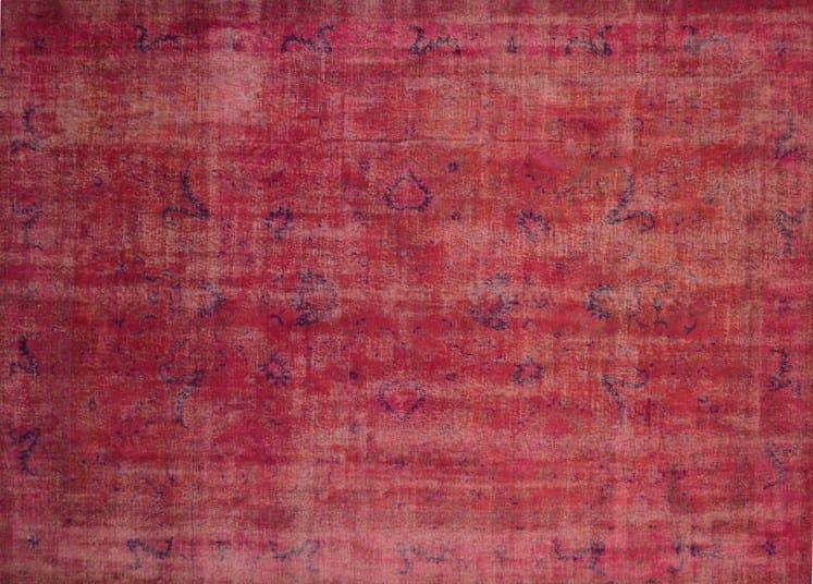Vintage style custom rug VINTAGE CHERRY - Mohebban