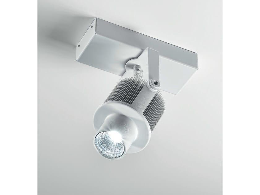 LED adjustable ceiling spotlight SPOT LIGHT NAKED - Olev by CLM Illuminazione