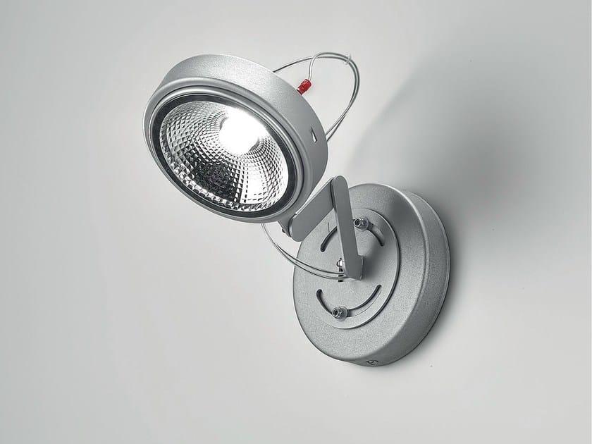 LED adjustable metal spotlight QR SPOT - Olev by CLM Illuminazione