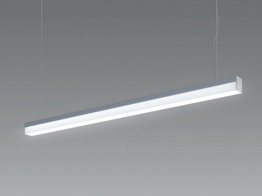 LED direct light metal pendant lamp BLADE - Olev by CLM Illuminazione