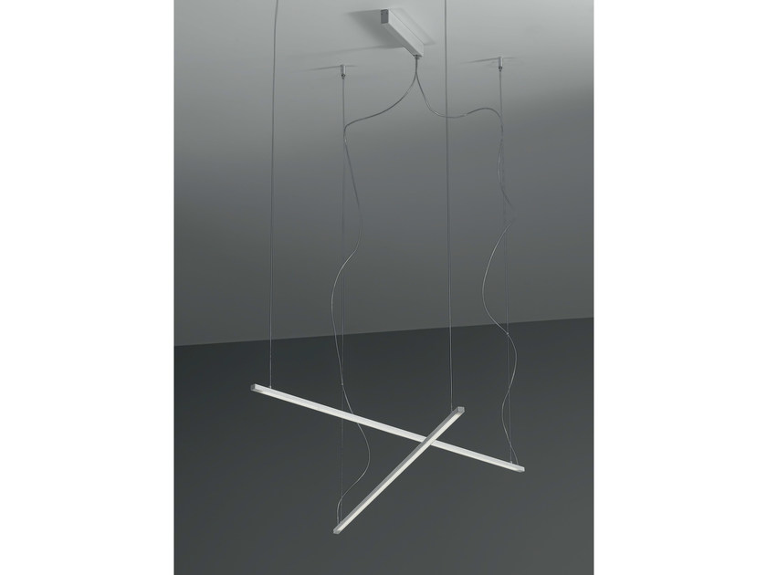 LED metal pendant lamp PROFIL 10 | Pendant lamp - Olev by CLM Illuminazione