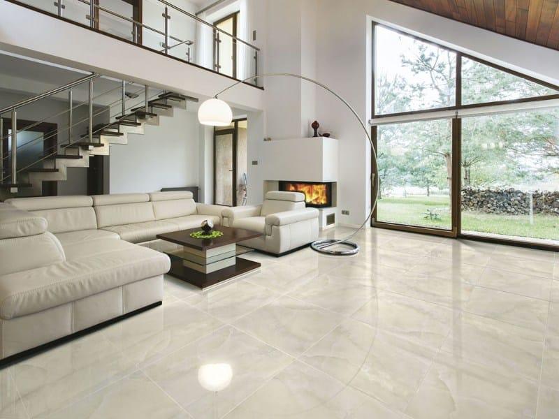 Pavimento in gres porcellanato effetto marmo elegance ceramica rondine - Piastrelle finto marmo ...