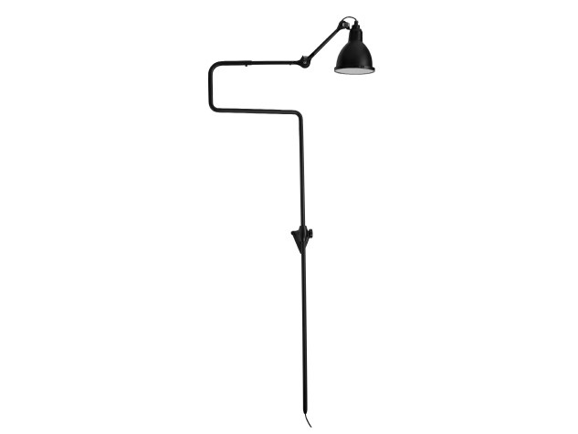 Adjustable steel Floor lamp 217 XL IN and OUT - DCW éditions