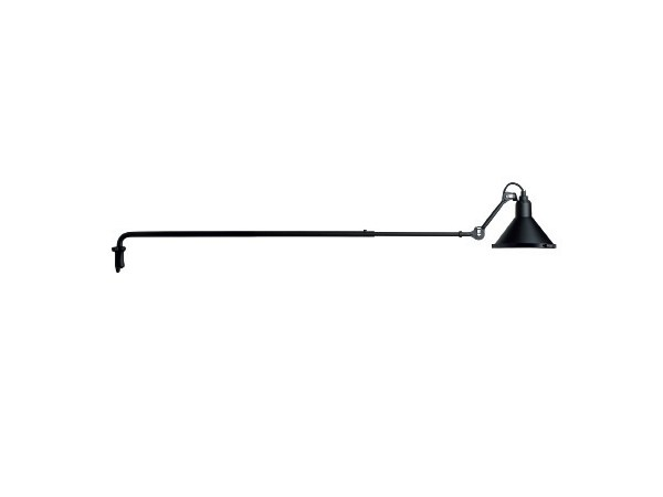 Adjustable steel wall lamp 213 XL IN and OUT - DCW éditions