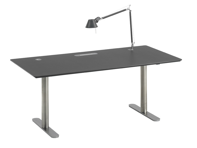 Rectangular office desk E-ZONE by Onecollection