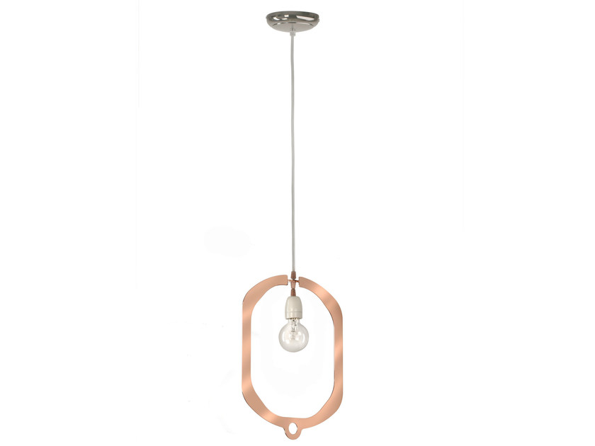 Pendant lamp JEWEL COPPER by Hind Rabii