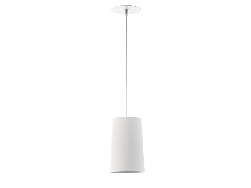 Pendant lamp C1 SQUAM WHITE - Hind Rabii