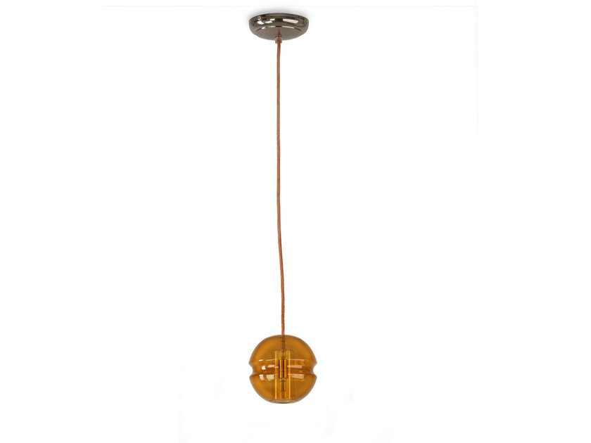 LED direct light glass pendant lamp BALLS A15 - Hind Rabii