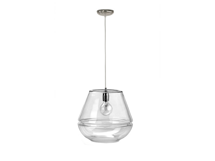 Glass pendant lamp T1 GLASS T - Hind Rabii