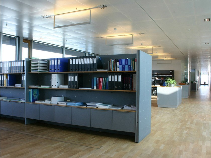 Modular office shelving NN SYSTEM | Office shelving - Onecollection