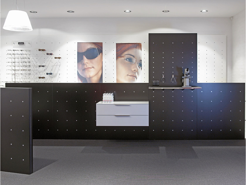 Wall-mounted modular retail display unit NN SYSTEM | Retail display unit - Onecollection