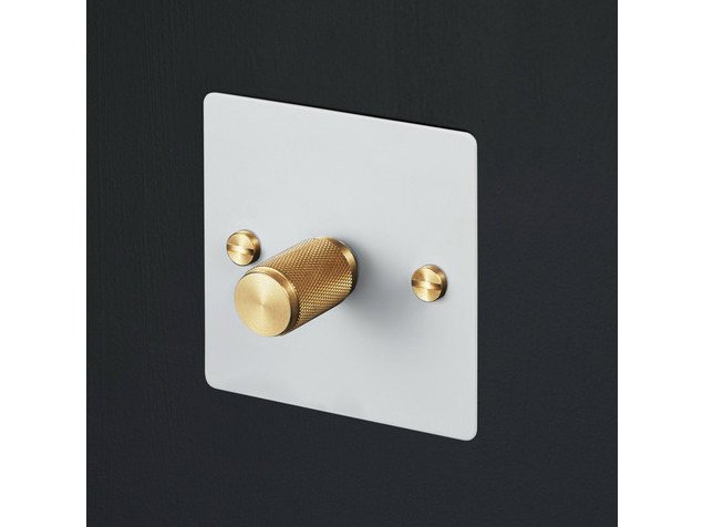 Light Switches Light Switches - White & Brass by Buster + Punch