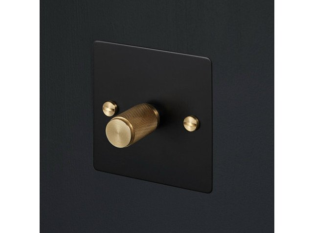 Light Switches Light Switches - Black & Brass by Buster + Punch