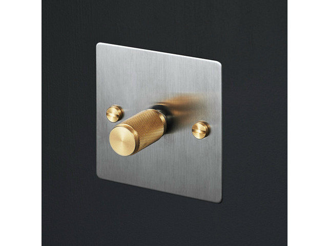 Light Switches Light Switches - Steel & Brass - Buster + Punch