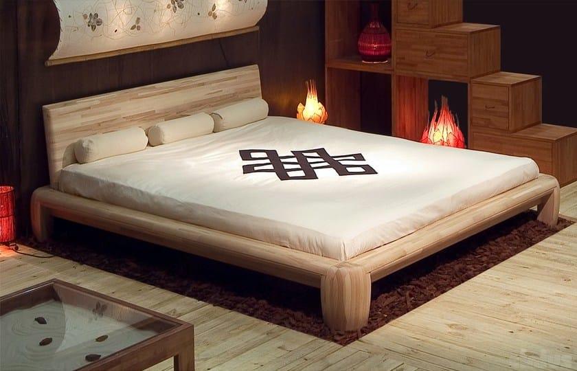 Letto matrimoniale tatami in legno maru letto - Letto moderno legno ...