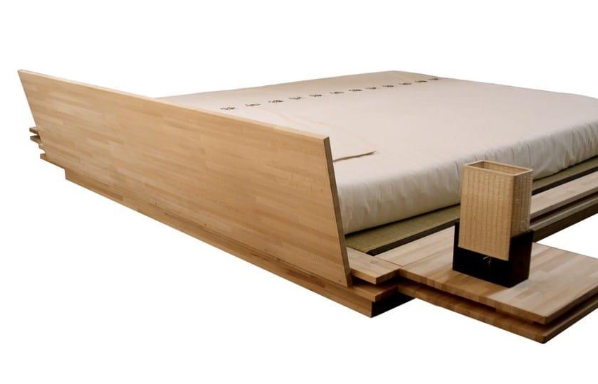 Letto matrimoniale tatami in legno toki cinius - Letto matrimoniale basso ...