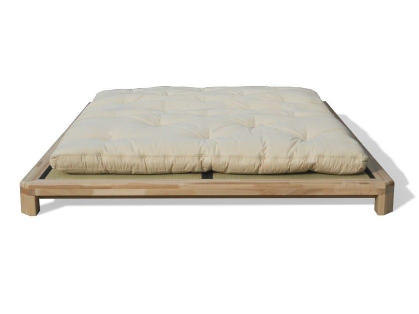 Tatami wooden double bed DOJO H - Cinius
