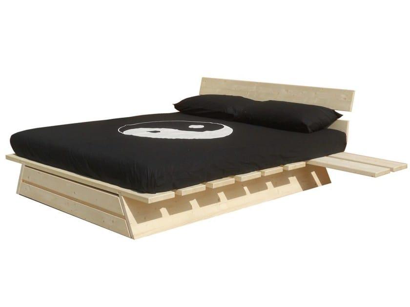 Wooden storage bed FELCE by Cinius