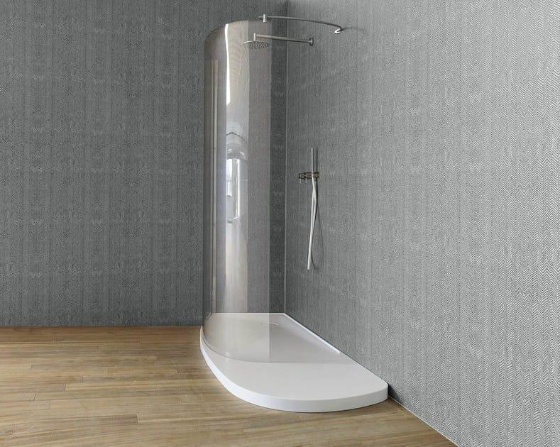 Carta da parati impermeabile per bagno fibra carta da - Carta da parati bagno ...
