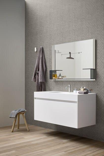 Carta da parati impermeabile per bagno fibra carta da parati rexa design - Tapete badezimmer geeignet ...