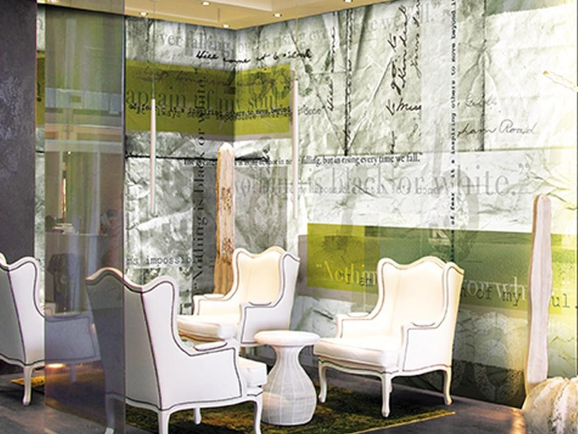Panoramic writing wallpaper MANDELA - N.O.W. Edizioni