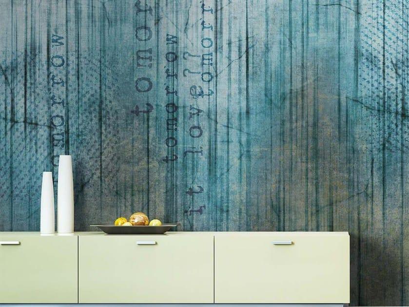 Panoramic writing wallpaper MILAN - N.O.W. Edizioni